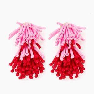 Jewelry - Red & Pink Fireworks Earrings